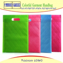 5 PCS Custom Eco-friendly Non Woven Garment Bags Flat Non-woven Carry Bags Supplier