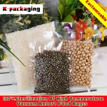 100 pcs High Quality Retort Food Bags 130 Degree High Temperature Vacuum Cooking Packaging