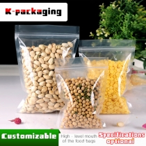 5 pcs Food Grade 3-side Seal 0.16mm Ziplock Mylar Bags Plastic Resealable Bags