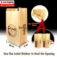 10 pcs 12x30cm Clear Window Lined Paper Bread Storage Bag Toastabags Bread Loaf Bags