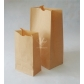 5 pcs Recyclable Kraft Shopping Bags Fast Food Paper Pouches DIY Paper Bags for Gift