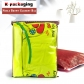 5 pcs Wholesale Clear Embossed Ziplock PVC Garment Bag Brown Bag Clothing Blanket Storage Packaging