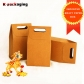 5 pcs Wholesale 10x16cm Small Paper Craft Boxes for Candies with Handle Hole