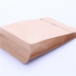 5 pcs Alu Foil Flat Bottom Coffee Packaging Supplies Stand up Kraft Paper Pouch with Valve